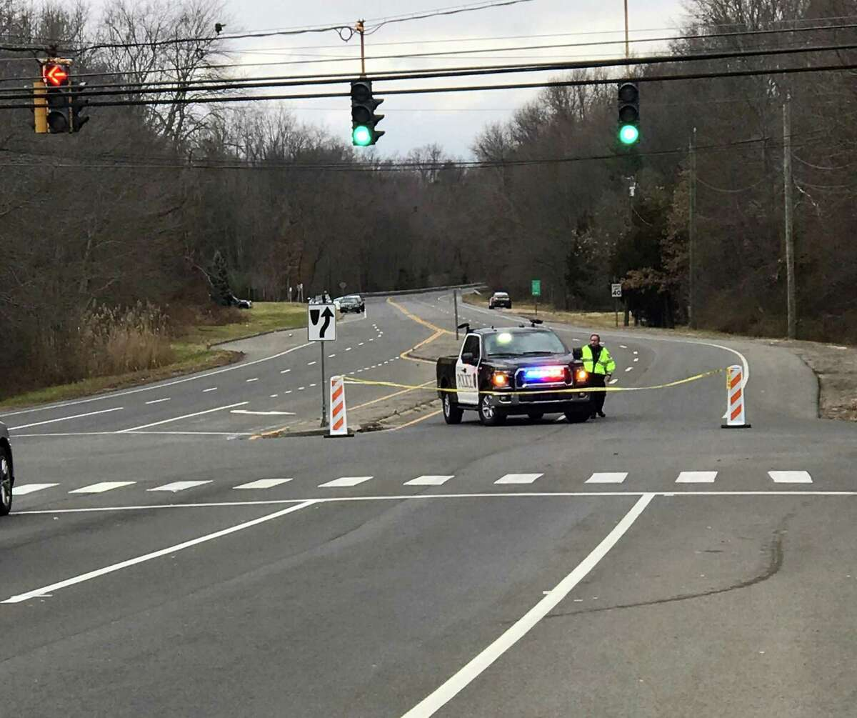 Sherwood Island Connector was temporarily closed as Westport police investigated a stabbing incident. Taken Jan. 6, 2020 in Westport, Conn.