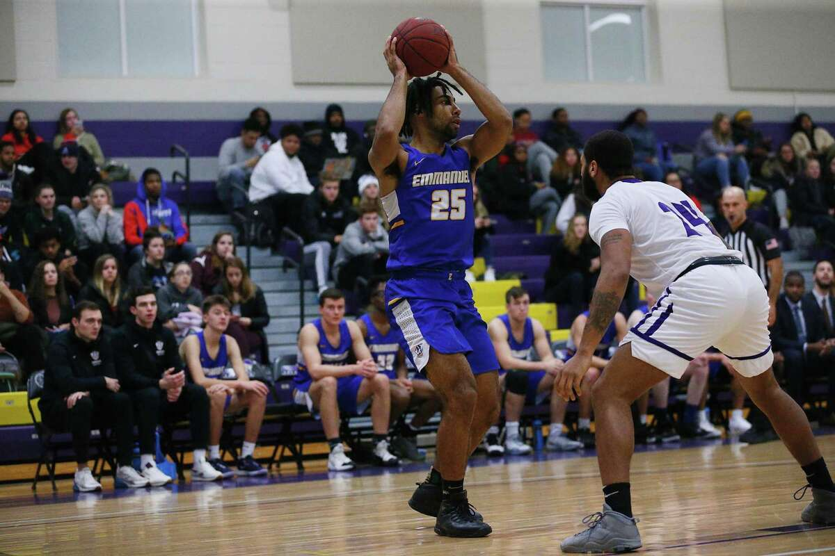 Marcus Fox of Danbury has been named the Great Northeast Athletic Conference Men's Basketball Player of the Week.