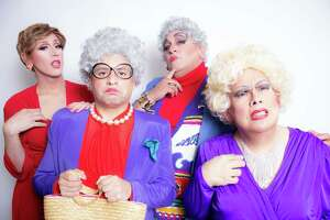 """""""Thank You for Being a Friend,"""" a spoof of """"The Golden Girls,"""" will launch the new Players at the Pointe theater troupe at Woodlawn Pointe. It's a follow-up to an earlier show based on the sitcom, which starred Kristi Waters, from left, Dave Cortez, Jose DeHoyos and Gilbert Lopez. Waters, DeHoyos and Lopez lead the new company."""