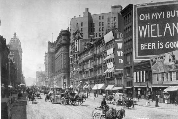 Market Street July 1905 The Wyland Stanley Collection