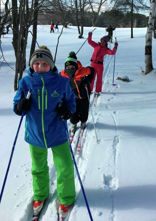 The Minger Family Endowment Fund awarded the Manistee Area Public Schools $8,970 grnt to support the Manistee Middle School Cross Country Ski Project. (Courtesy photo)