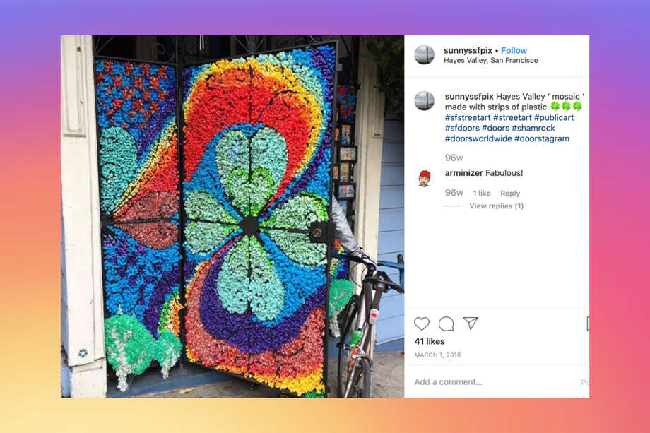 San Francisco has the most eclectic doors and these Instagram accounts prove it. Photo: @sunnyssfpix
