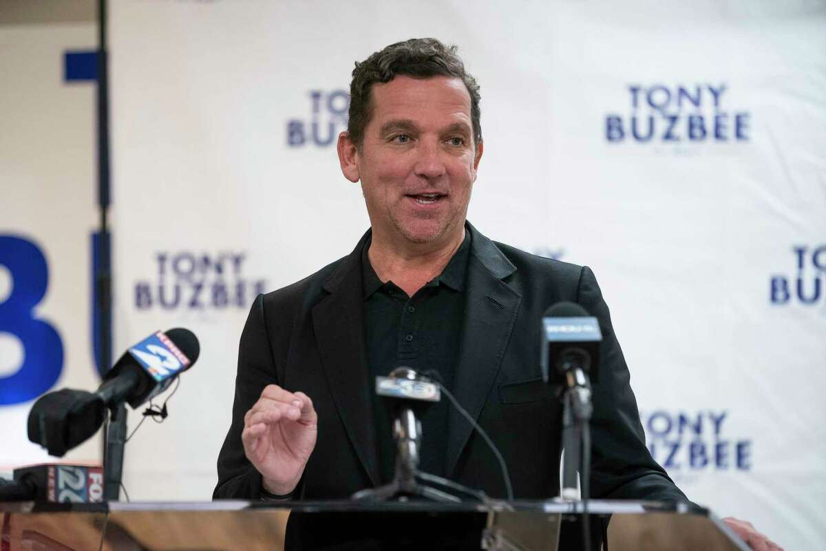 Houston mayoral candidate Tony Buzbee, shown here the day after the Nov. 5 election, said he is launching a show that will dig deeper into local restaurants, their food and owners.