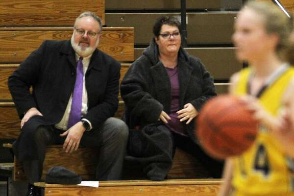 The Bad Axe girls basketball team topped visiting North Huron, 54-25, on Monday, Jan. 6, 2020.