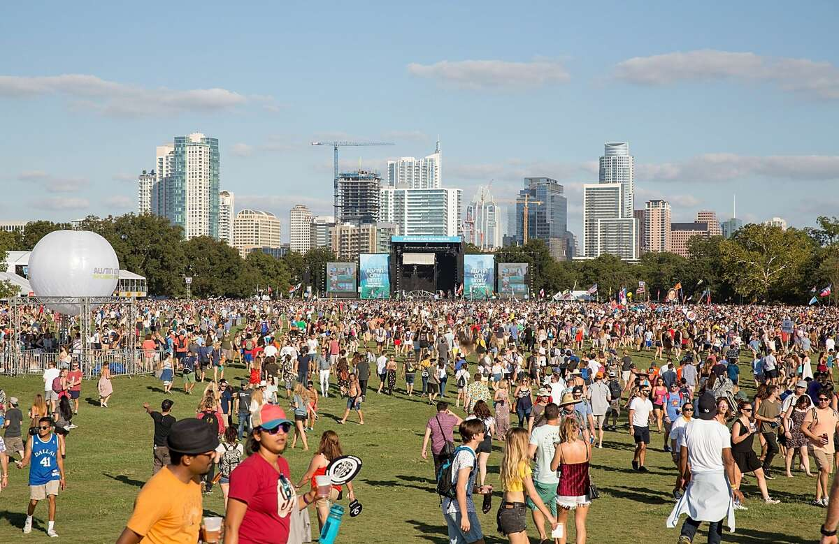 A general view of atmosphere during weekend one, day one of Austin City Limits Music Festival at Zilker Park on October 6, 2017 in Austin, Texas. The festival this year is going virtual due to the ongoing coronavirus pandemic. (Photo by Rick Kern/WireImage)