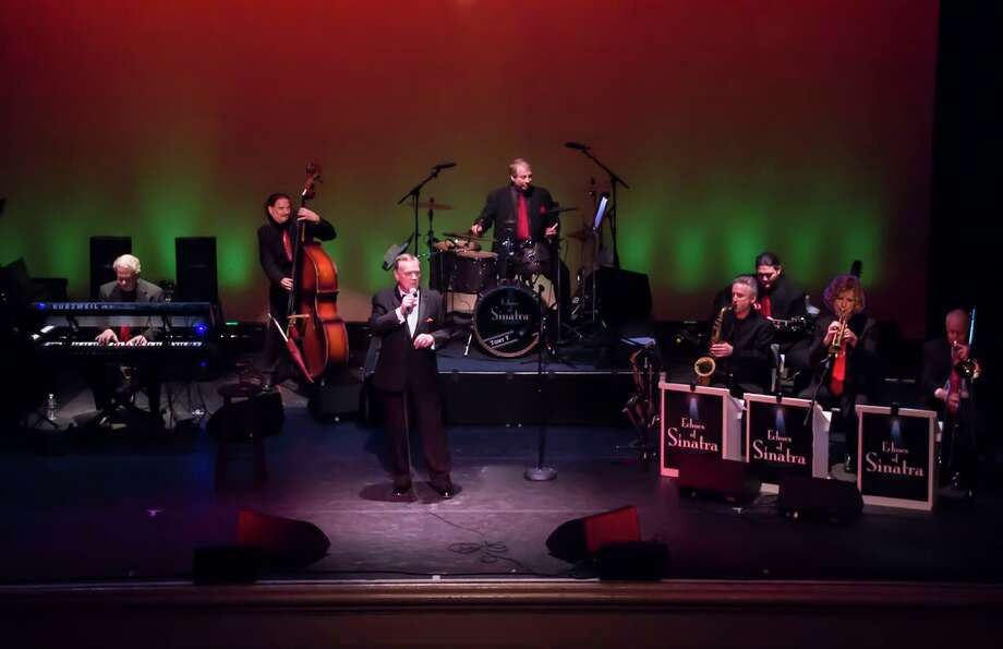 Echoes of Sinatra and Dino concert to benefit Sandy Hook Promise on Jan. 11 at 7:30 p.m. at the Ridgefield Playhouse, 80 East Ridge Road, Ridgefield. Cabaret singers Steve Kazlauskas and Jack Lynn will perform with the Tony T Orchestra. Tickets are $50-$75. For more information, visit ridgefieldplayhouse.org. Photo: Contributed Photo