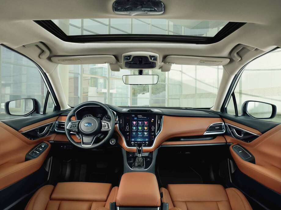 The 2020 Subaru Legacy features an 11.6-inch touchscreen controlling audio, heat, cooling and other systems. Photo: Subaru Media / Contributed Photo