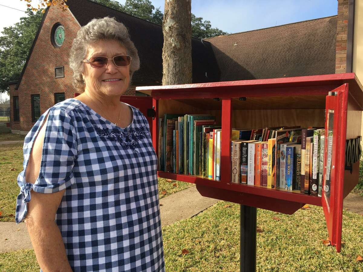 A Little Free Library recently became an addition to Katy First United Methodist Church. People are invited to take a book and leave a book in the box, which was a project of the United Methodist Women and the former Library Circle, said Maria Perry, UMW president.