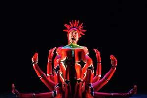 MOMIX will perform at The Warner Theatre in Torrington Jan 18 and 19.