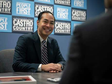 Julián Castro, recent Democratic Presidential Primary Candidate and former U.S. Secretary for Housing and Urban Development under President Obama, photographed at his campaign headquarters in San Antonio, Texas, on Saturday, January 4, 2020. Castro ended his run for president on Jan. 2, 2020.