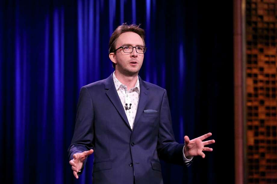 "Comedian Joe List, pictured performing on ""The Tonight Show Starring Jimmy Fallon"" in 2018, will be at StageOne at Fairfield Theatre Company Jan. 11. Photo: Andrew Lipovsky / NBC / Getty Images / 2018 NBCUniversal Media, LLC"