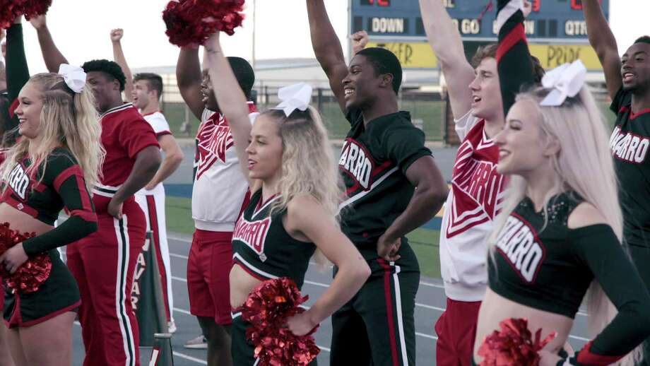 The documentary series 'Cheer' focuses on the Navarro College cheer squad. Photo: Courtesy Of Netflix