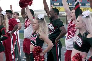 The documentary series 'Cheer' focuses on the Navarro College cheer squad.