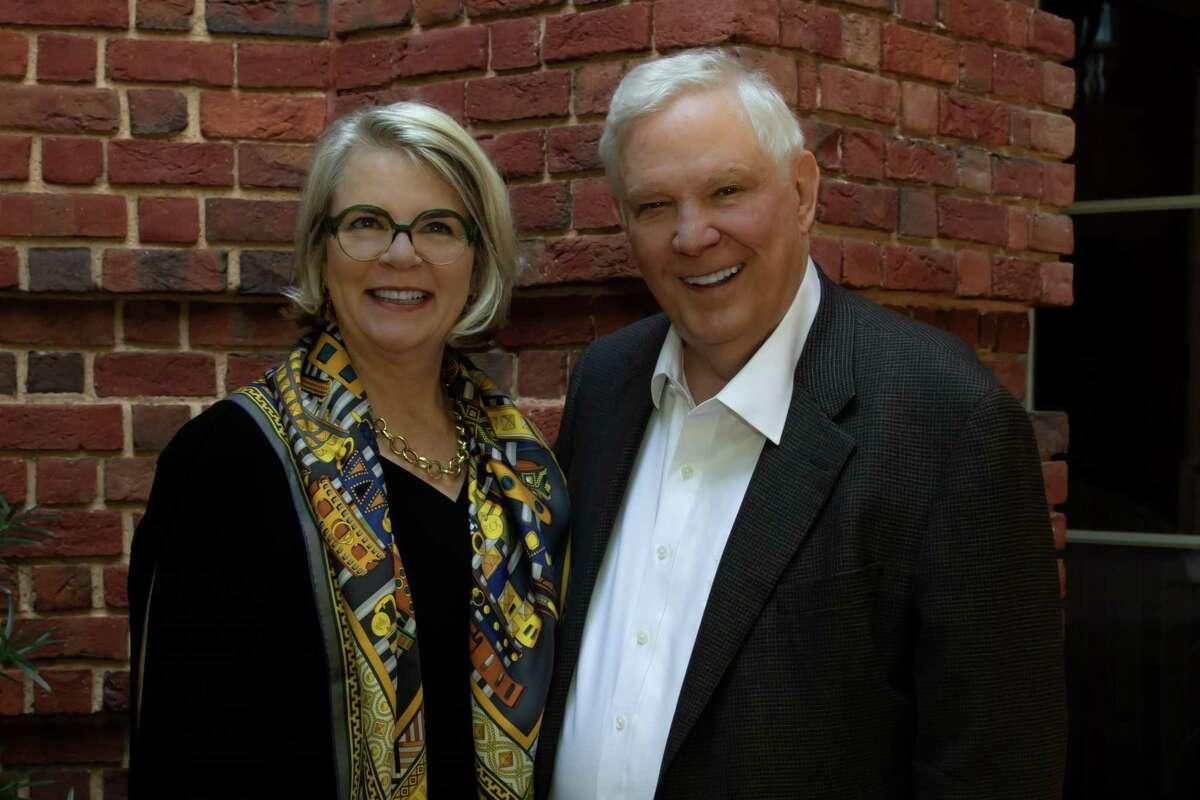 Founder of Texas 2036, Tom Luce, and CEO of Texas 2036, Margaret Spellings, shown ahead of Spellings' appointment as CEO.