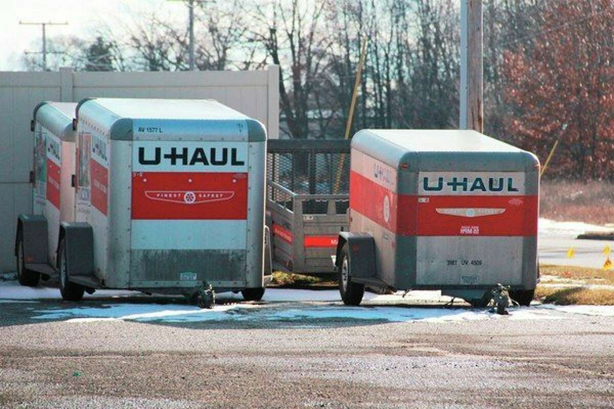 While U-Haul International will no longer be accepting applicants from nicotine users beginning Feb. 1, local U-Haul Neighborhood Dealers will not be affected by this rule, as they are independently owned. (Herald Review photo/Alicia Jaimes)