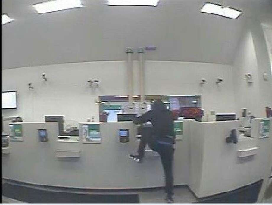 East Haven police released these photos of an alleged bank robbery at Citizen's Bank, 430Foxon Road Tuesday Jan. 7, 2020. Photo: Contributed