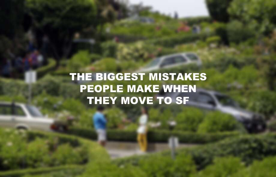 The biggest mistakes people make when they move to San Francisco. Photo: Marcio Jose Sanchez/Associated Press