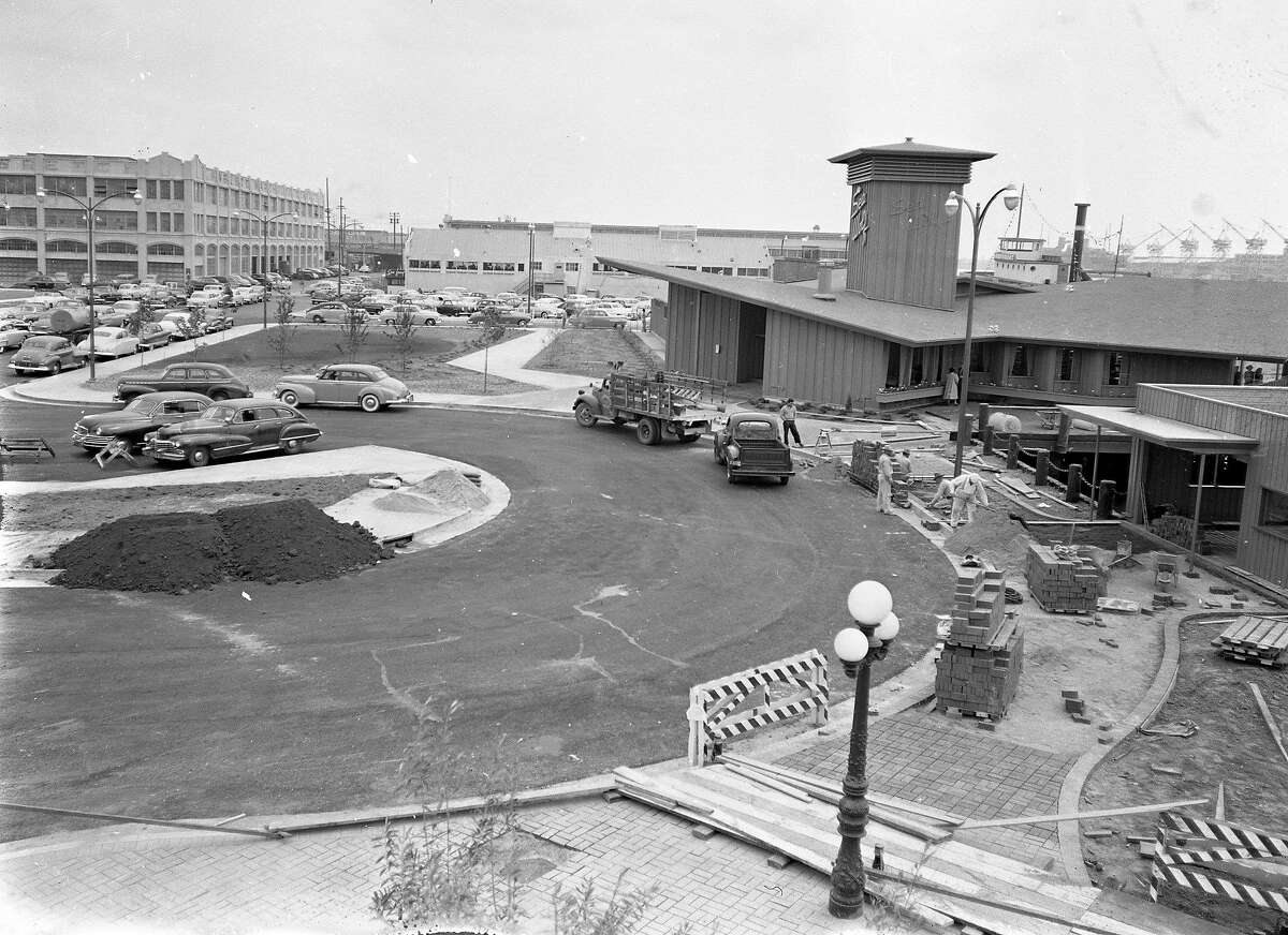 The SeaWolf Restaurant at Jack London Square, in Oakland, April 24. 1952