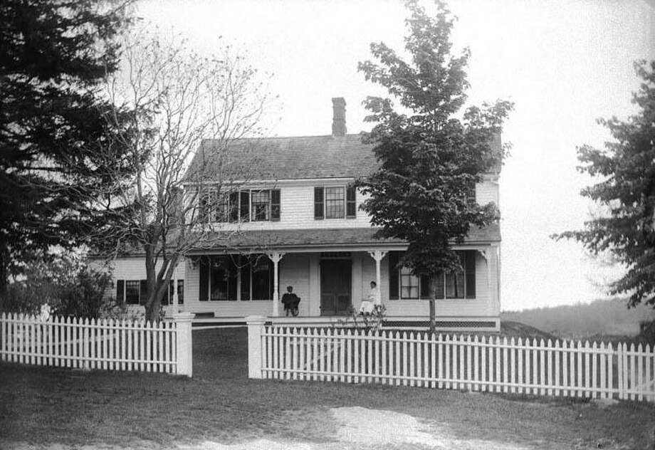 "The next ""Readings from the Archives of the Gunn Historical Museum"" will be held Jan. 6 at 10 a.m. at the Washington Senior Center in Bryan Hall Plaza. Representatives from the museum will read ""The History of East Street,"" written by Mrs. Arthur Hollister in 1914. Above is a photograph of the home of Clifford Hough at 102 East St. in Washington, circa 1900. If you have a ""Flashback"" you'd like to share, contact Deborah Rose at drose@newstimes.com or 860-355-7324. Photo: Courtesy Of Gunn Historical Museum / The News-Times Contributed"