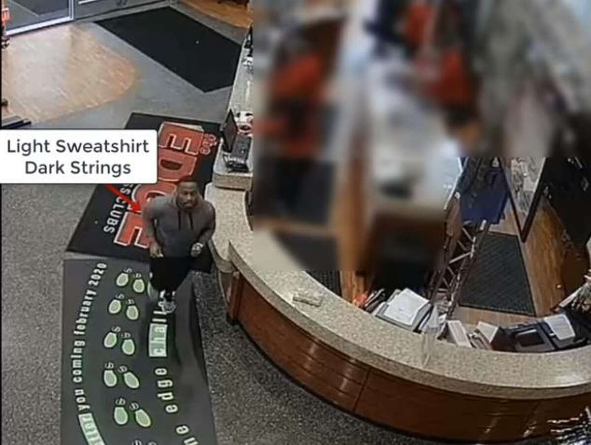 Suspect caught on surveillance footage linked to credit card thefts.