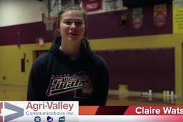 Deckerville girls basketball player Claire Watson is the Agri-Valley Communications Athlete of the Week.