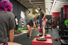 For the ladies at An Iron Movement, in addition to the community and inclusiveness, it's this sense of progress that keeps them coming back, along with the knowledge that the community has your back no matter what.