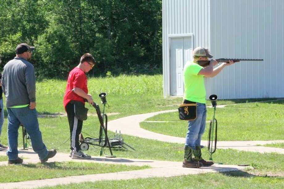 The Reed City Sportsman Club has active shooting during the summer months (above) but now is starting its winter league. (Herald Review file photo)