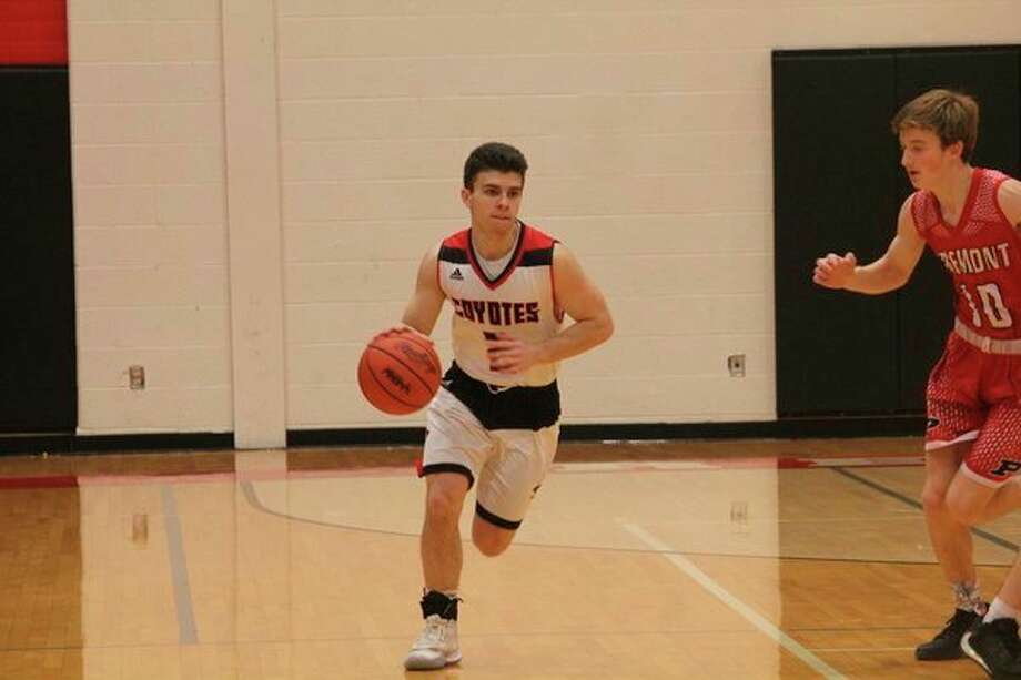 Zac Saez and the Reed City boys basketball team will host Tri County on Friday. (Herald Review photo/John Raffel)