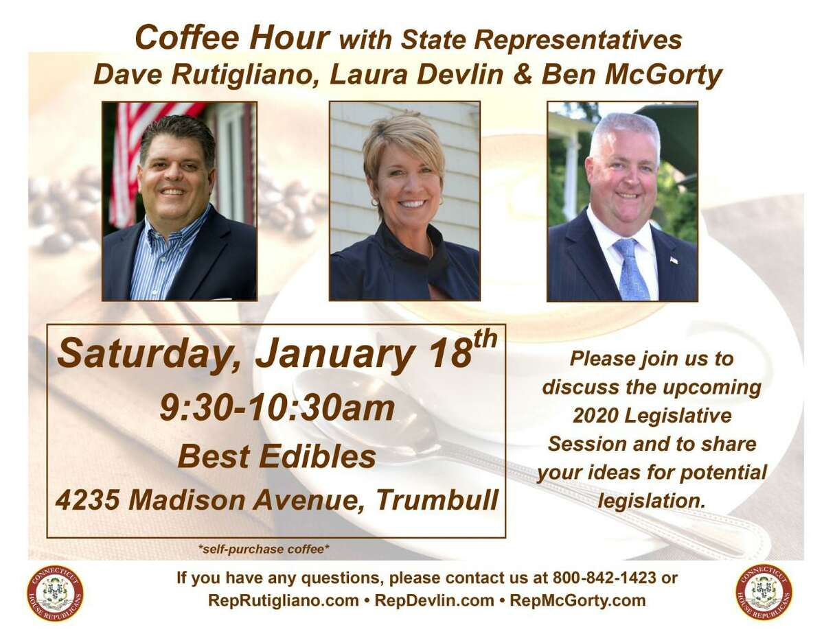 Coffee Hour with State Representatives