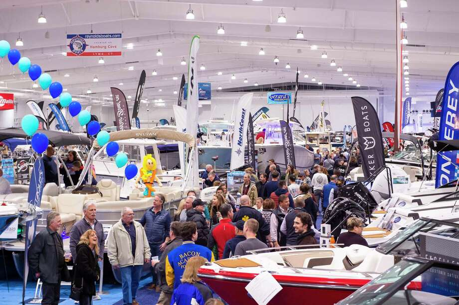 All aspects of recreational boating on Connecticut's lakes, rivers and shoreline, including boats, motors, trailers, technology and accessories, will represented at the Hartford Boat Show at Mohegan Sun, Jan. 16-19. Photo: Tom Bombria / Connecticut Marine Trades Association / Contributed Photo / 2019 Tom Bombria