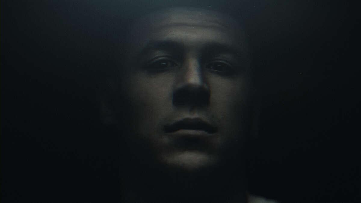 A still from 'Killer Inside: The Mind of Aaron Hernandez' on Netflix.