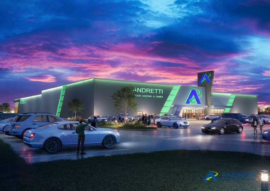 A new gaming facility set to open in the Katy area this year will offer more than 80,000 square feet of fast-paced entertainment. Photo: Andretti Indoor Karting & Games