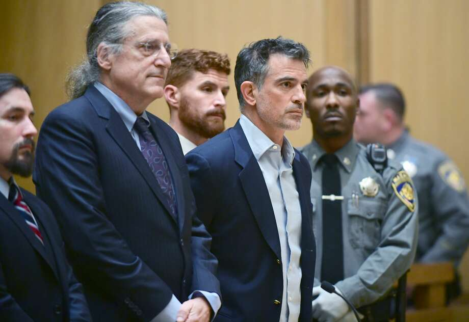 Fotis Dulos was arraigned in Stamford Superior Court on January 8, 2019, the day after being charged with murder in the Jennifer dulos case. Photo: Erik Trautman