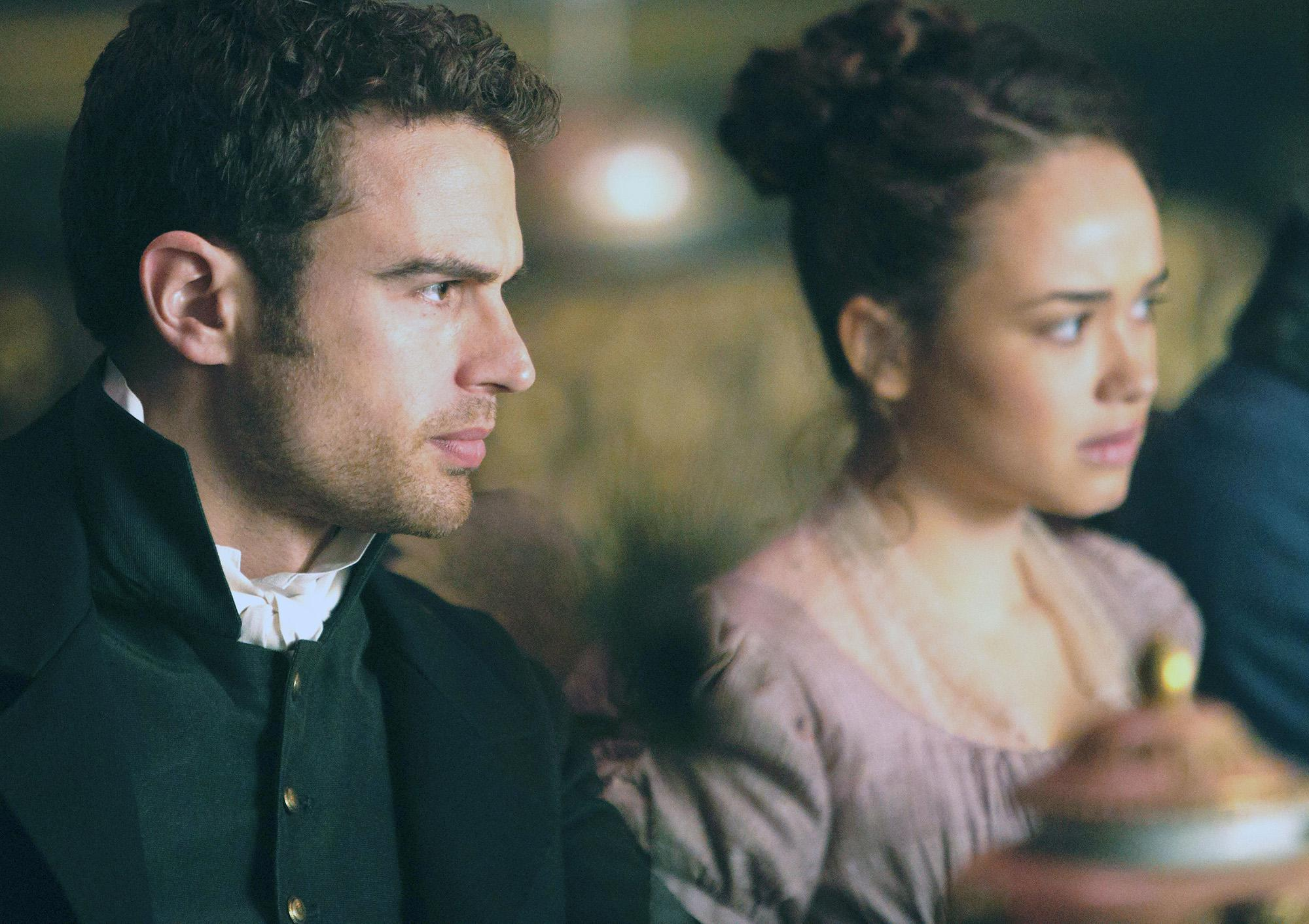 The winding path of Theo James to Jane Austen's 'Sandition'