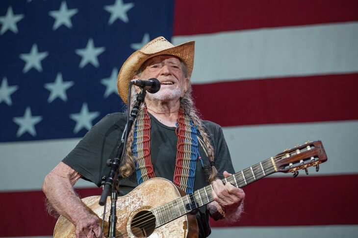 AUSTIN, TEXAS - JULY 04: Singer-songwriter Willie Nelson performs onstage with Willie Nelson and Family during the 46th Annual Willie Nelson 4th of July Picnic at Austin360 Amphitheater  on July 04, 2019 in Austin, Texas.
