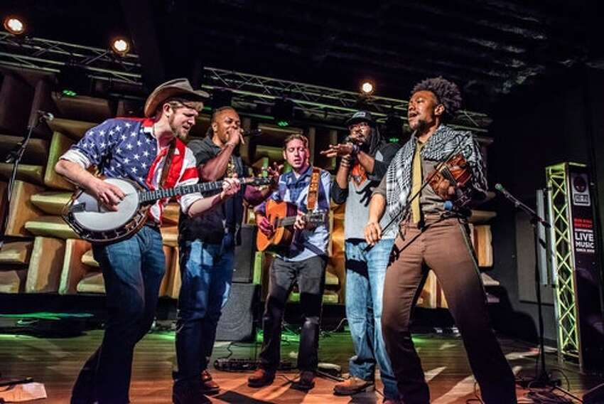 Friday: Gangstagrass is exactly what it sounds like, blending hip-hop and bluegrass at the GE Theatre at Proctors.