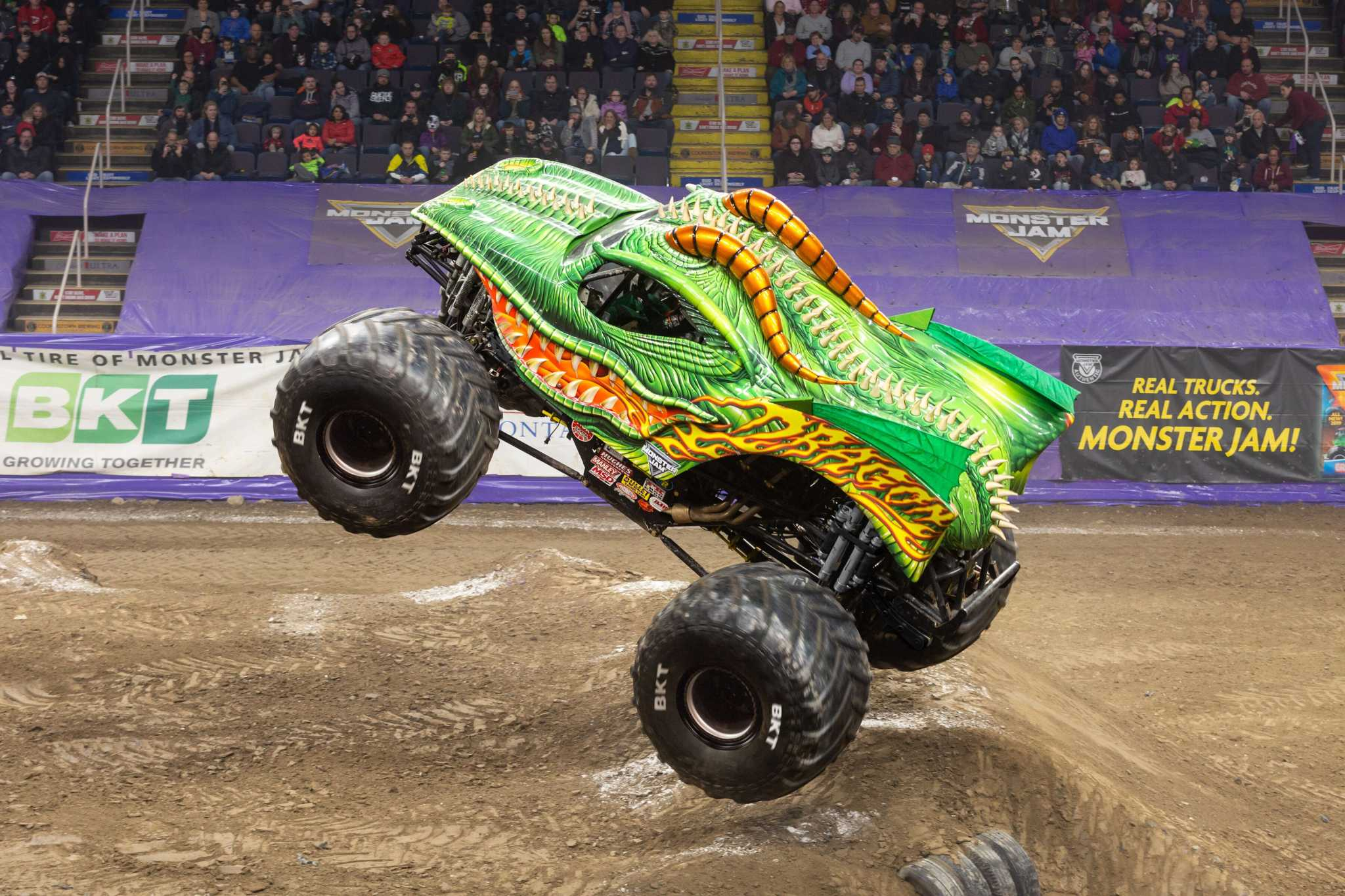 Monster Jam Comes To Times Union Center