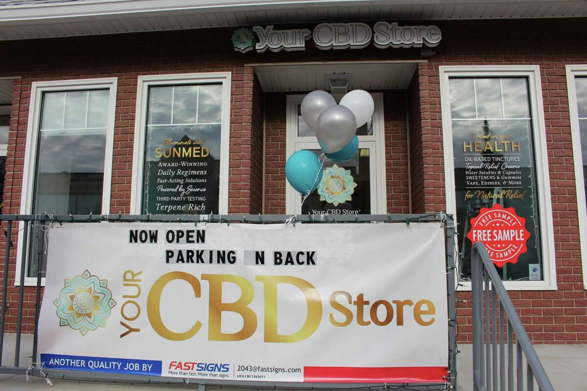 The new Your CBD Store at 3030 Fairfield Ave. in the Black Rock section of Bridgeport.