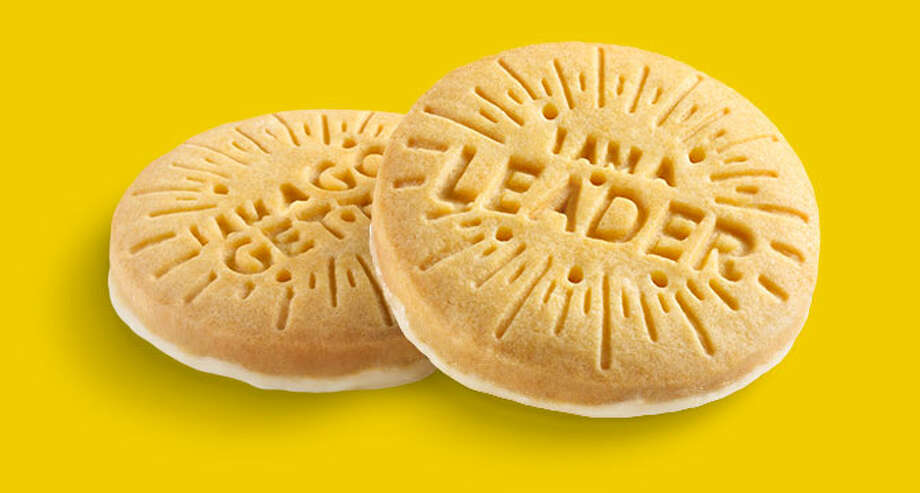 Lemon-Ups, crispy lemon cookies baked with sustainable palm oil, are the latest addition to the menu. Photo: Girl Scouts Of America