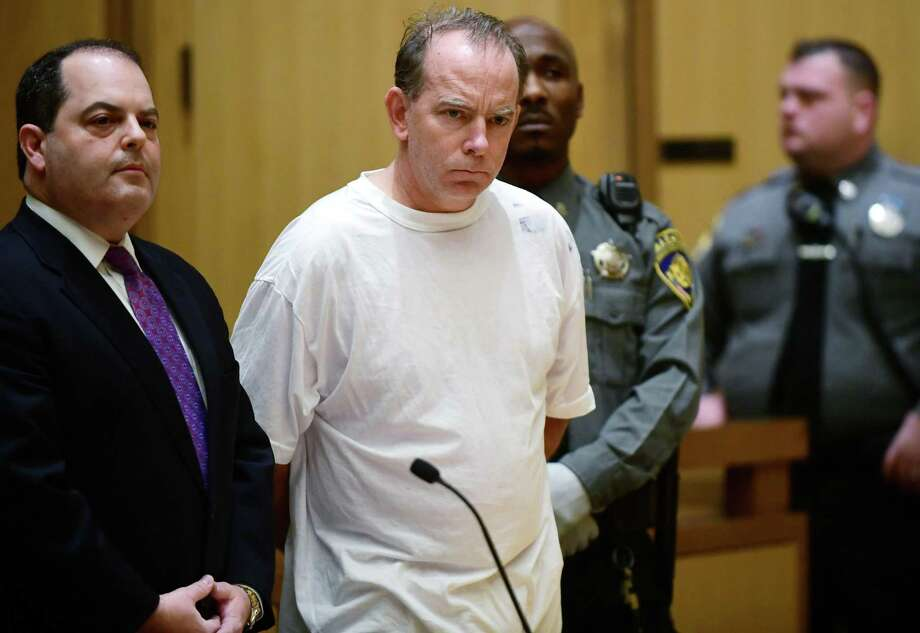 Attorney Kent Douglas Mawhinney is arraigned on conspiracy to commit murder charges in Stamford Superior Court Wednesday, January 8, 2020, in Stamford, Conn. Photo: Erik Trautmann / Hearst Connecticut Media / Norwalk Hour