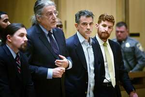 Fotis Dulos is arraigned on murder and kidnapping charges in Stamford Superior Court Wednesday, January 8, 2020, in Stamford, Conn.