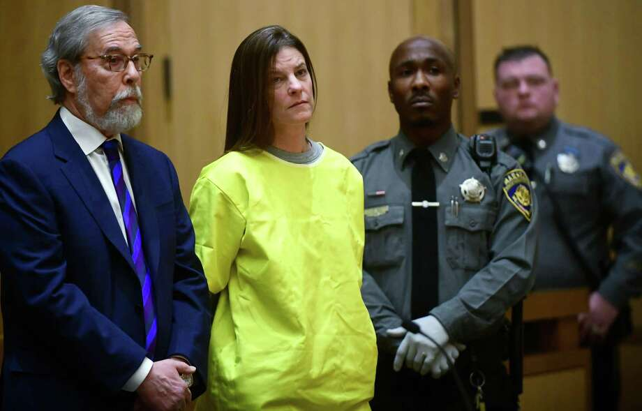 Michelle Troconis is arraigned on conspiracy to commit murder charges in Stamford Superior Court Wednesday, January 8, 2020, in Stamford, Conn. Photo: Erik Trautmann / Hearst Connecticut Media / Norwalk Hour