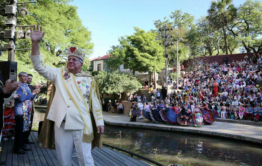 The Rey Feo Scholarship Foundation is reversing a land deal and plans to raise even more for scholarships in 2020. Here, Salvatore Barbaro III is crowned Rey Feo LXXI last year. Photo: Kin Man Hui / Staff Photographer / ©2019 San Antonio Express-News