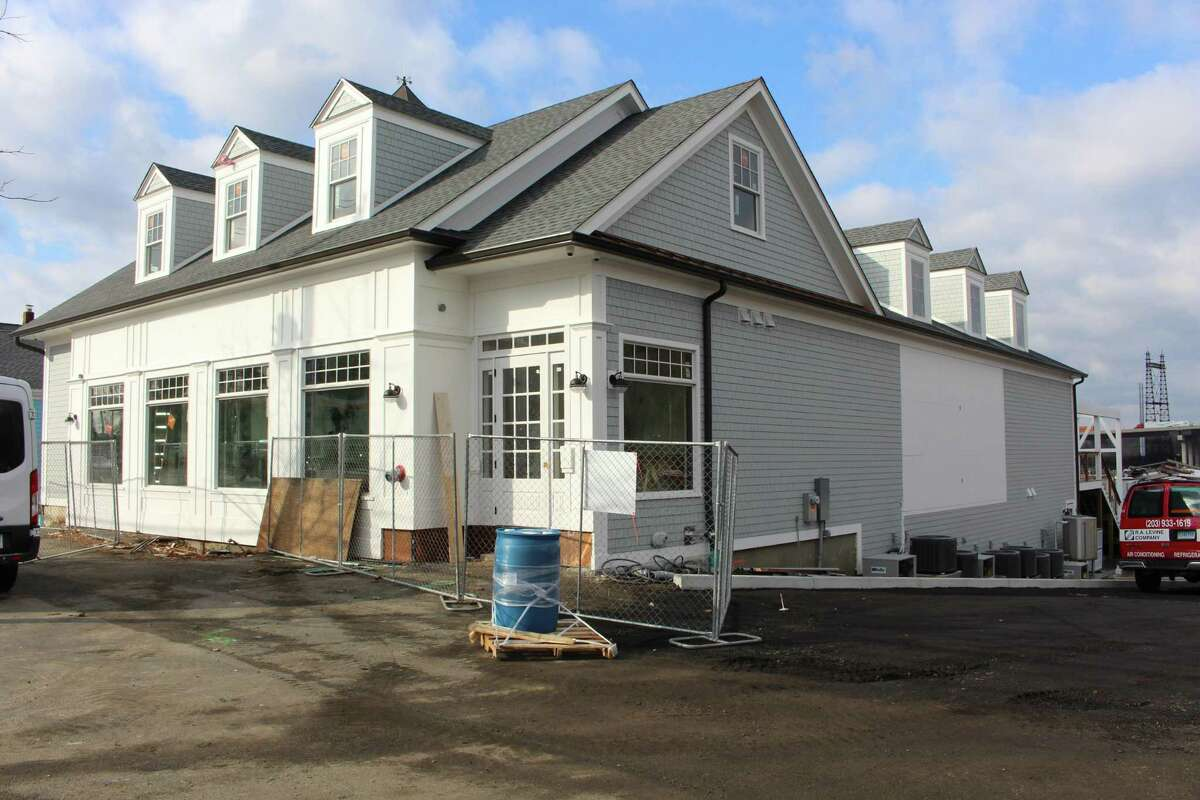 Dockside Brewery is taking form at 40 Bridgeport Ave in Milford.