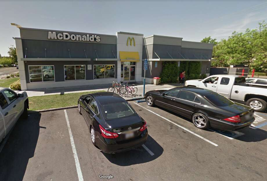 A 24-hour McDonald's in Midtown Sacramento has been playing bagpipe music on loudspeakers to drive the homeless away. The nearly nonstop music has been making life miserable for neighbors. Photo: Google Street View