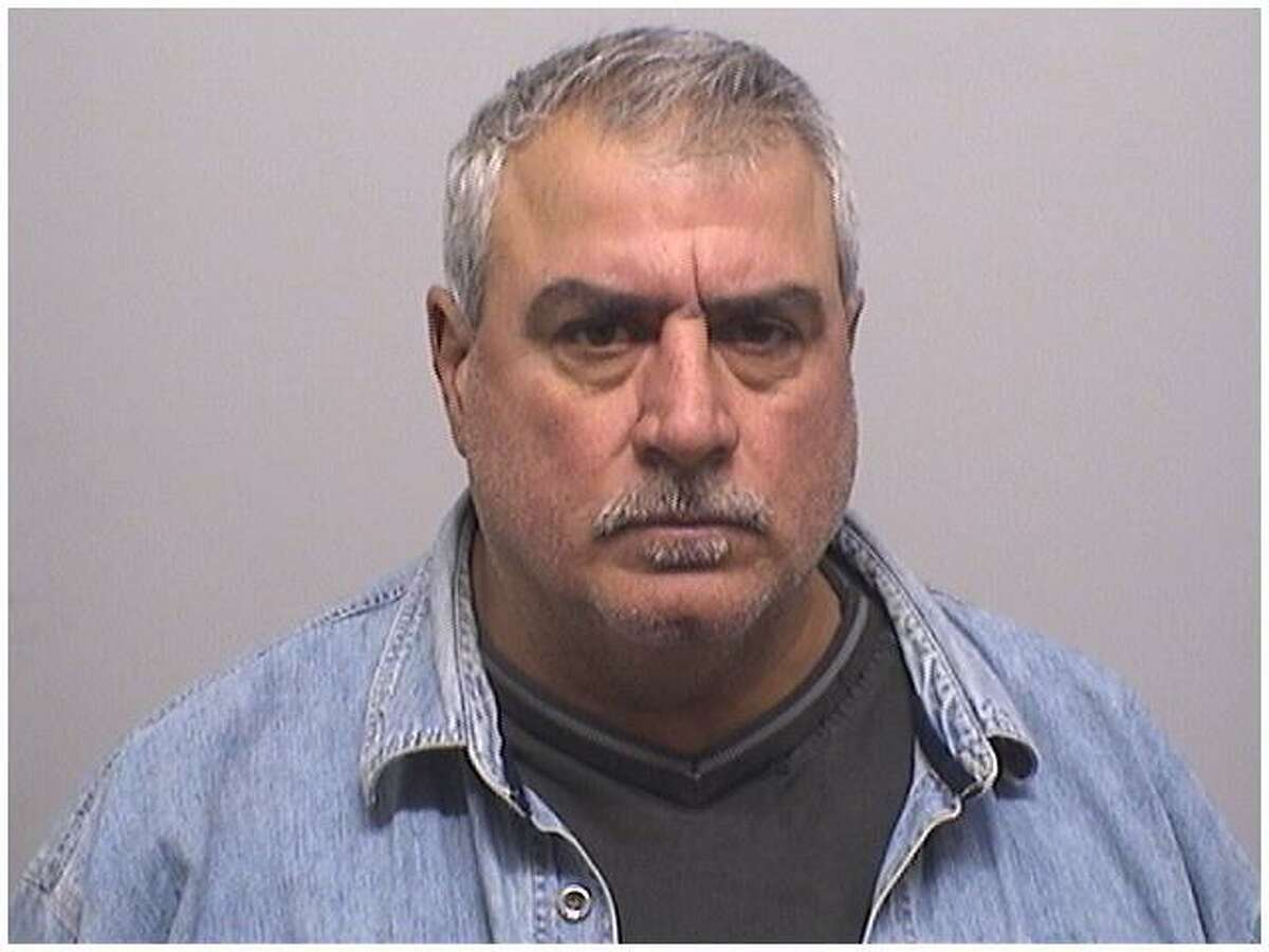 Peter Didonato Sr., 58, of Stamford, was charged with witness tampering and violating a judge's protective order in connection with a domestic violence incident his son was involved in.