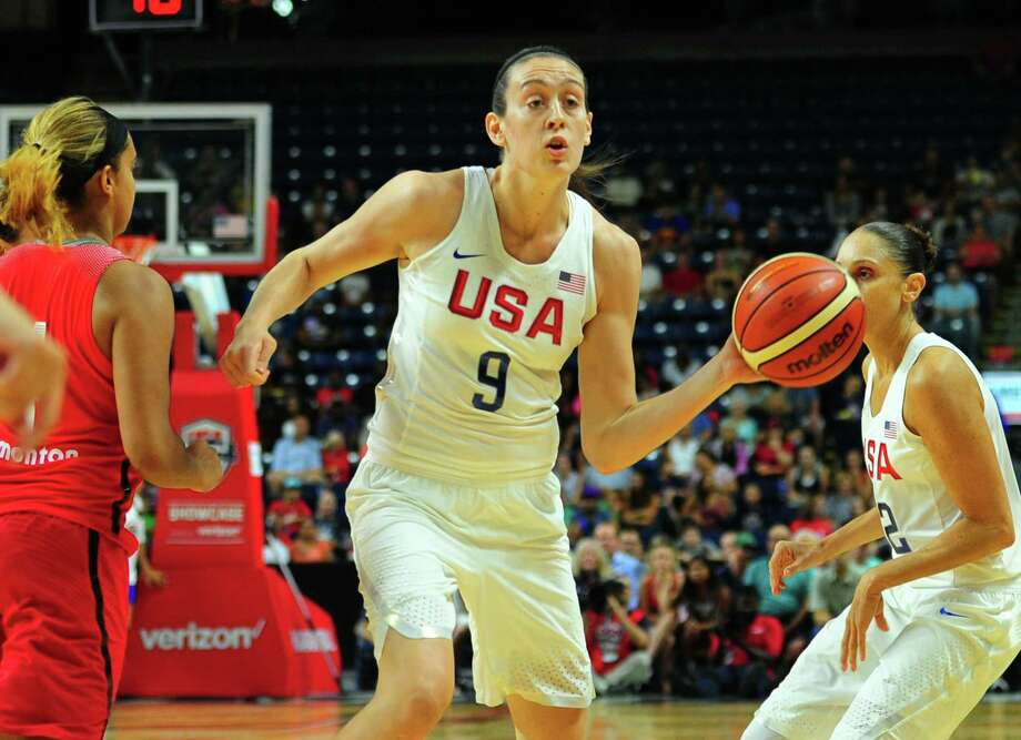 USA's Breanna Stewart during USA Women's Basketball Showcase action against Canada at the Webster Bank Arena in Bridgeport, Conn. on Friday July 29, 2016. Photo: Christian Abraham / Hearst Connecticut Media / Connecticut Post