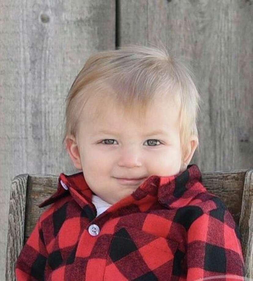Clayton Geiger, 11 months, Harbor Beach