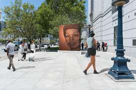 Lava Thomas' proposed public monument to Maya Angelou was accepted, then rejected under pressure, by a committee of the San Francisco Arts Commission. This month, the commission will release a new request for proposals to honor the late author.