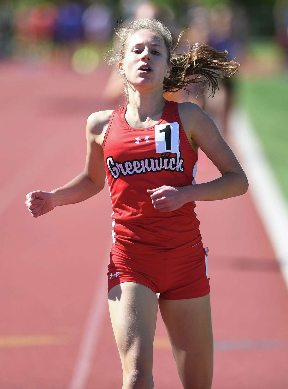 Greenwich's Mari Noble will compete in the 38th annual Yale Interscholastic Track Classic at Coxe Cage this weekend.
